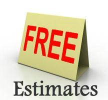 free estimates by Jmac